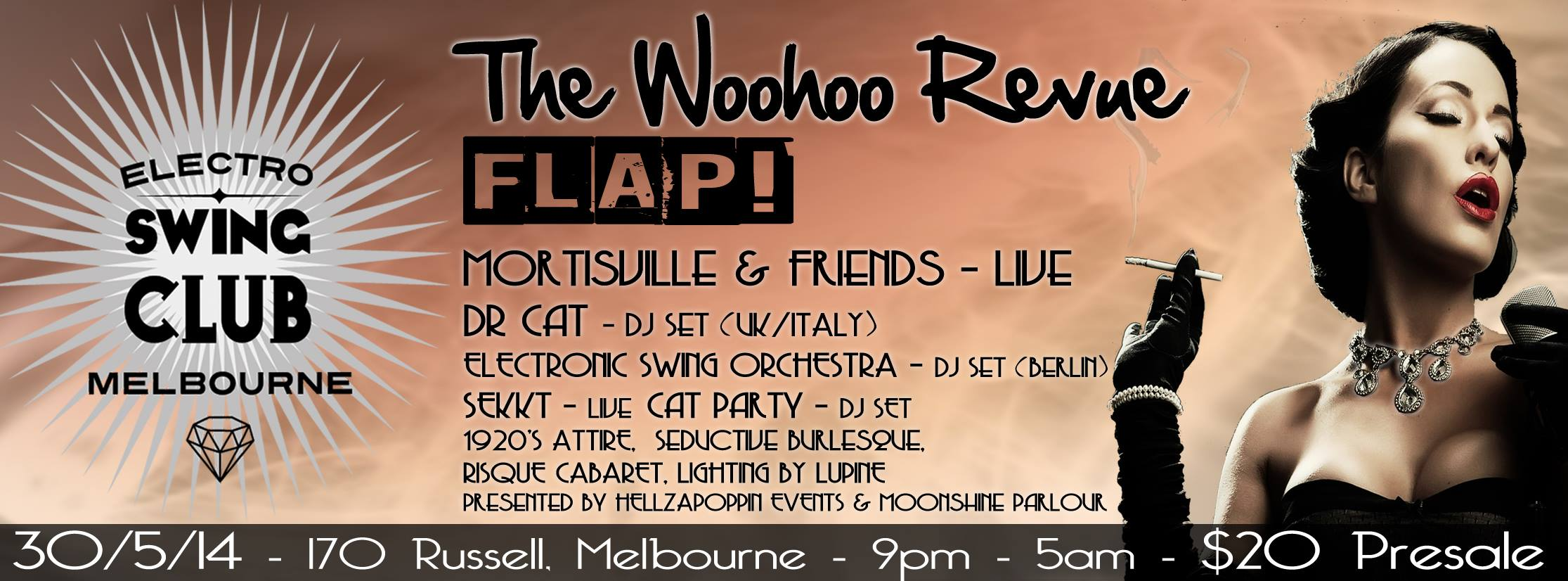 Electroswing Club Melbourne Launch